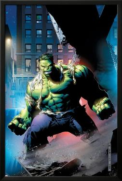 Hulk: Unchained No.1 Cover: Hulk by Jim Cheung