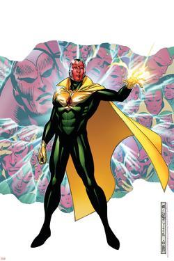 Young Avengers Presents No.4 Cover: Vision by Jim Cheung