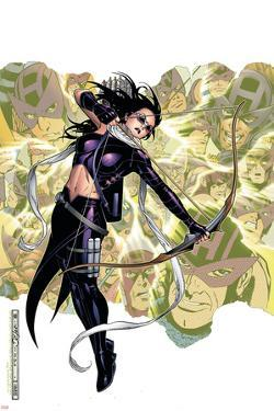 Young Avengers Presents No.6 Cover: Hawkeye by Jim Cheung