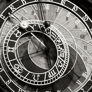 Prague Clock I by Jim Christensen