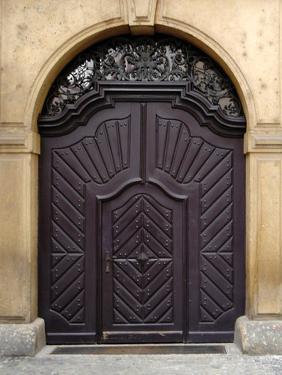 Prague Door IV by Jim Christensen
