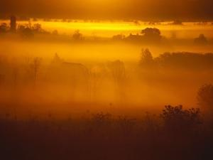 Early Morning Mist by Jim Craigmyle