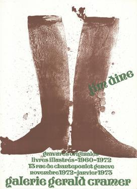 Brown Boots by Jim Dine