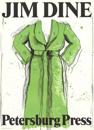 Green Robe by Jim Dine