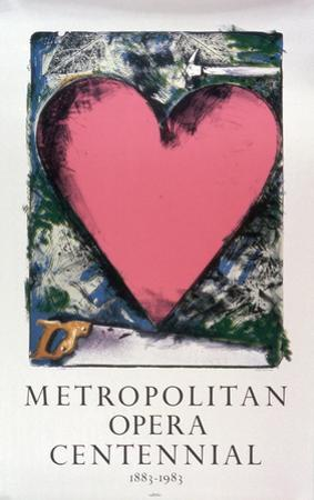 Pink Heart by Jim Dine