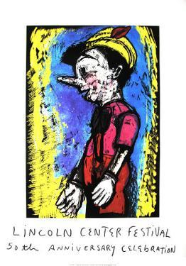 Pinocchio, 2008 by Jim Dine