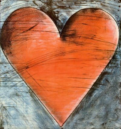 The Philadelphia Heart by Jim Dine
