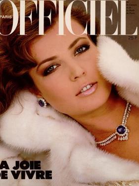L'Officiel, December 1982 - Christian Dior Haute by Jim Dorrance