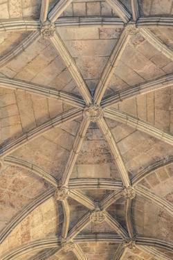 Jeronimos Monastery, Ceiling Detail, Lisbon, Portugal by Jim Engelbrecht