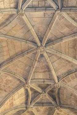 Jeronimos Monastery, Ceiling Detail, Lisbon, Portugal by Jim Engelbrecht