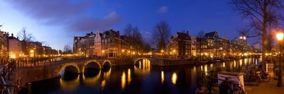 Keizergracht Canal, Leidsegracht Canal, South Holland, Amsterdam, Netherlands