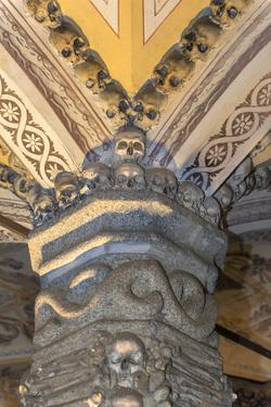 Portugal, Evora, St. Francis Church, Bone Chapel by Jim Engelbrecht