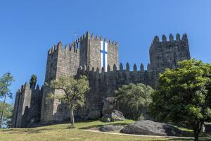 Portugal, Guimaraes, Guimaraes Castle by Jim Engelbrecht