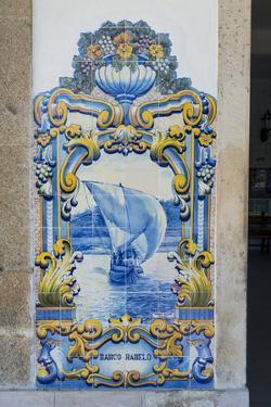 Portugal, Pinhao, Azulejo Mural, Train Station by Jim Engelbrecht