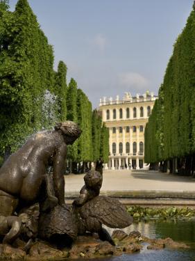 Schonbrunn Palace Sculpture, Vienna, Austria by Jim Engelbrecht