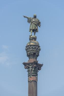 Spain, Barcelona, Christopher Columbus Monument by Jim Engelbrecht