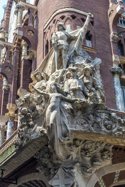 Spain, Barcelona, Music Palace by Jim Engelbrecht