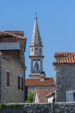 St. John's Church, Old Town, Budva, Montenegro, Europe by Jim Engelbrecht
