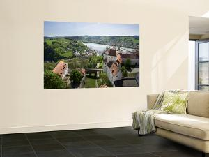 View From Oberhaus Fortress, Danube River, Passau, Bavaria, Germany by Jim Engelbrecht