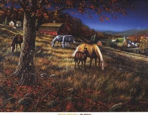 Hillside Gathering by Jim Hansel
