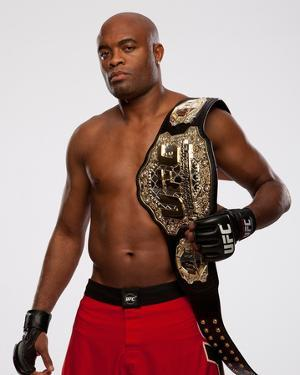UFC Fighter Portraits: Anderson Silva by Jim Kemper