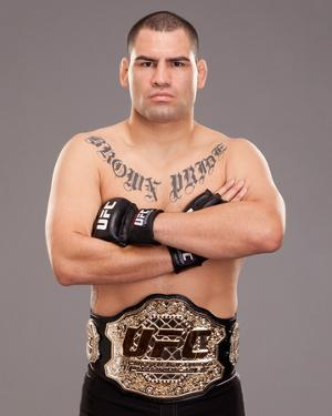 UFC Fighter Portraits: Cain Velasquez by Jim Kemper