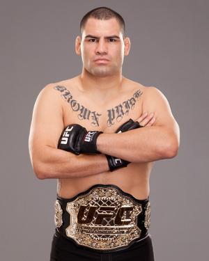 UFC Fighter Portraits: Cain Velasquez by Jim Kemper