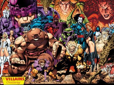X-Men No.1: 20th Anniversary Edition: A Villains Gallery by Jim Lee