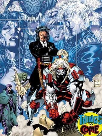 X-Men No.1: 20th Anniversary Edition: Omega Red by Jim Lee