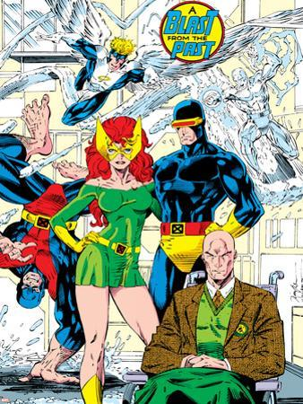 X-Men No.1 Pin-up Group: Blast From The Past, Original X-Men by Jim Lee
