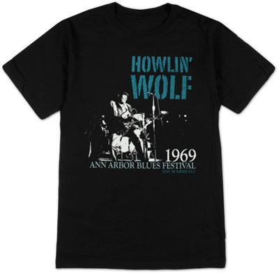 Howlin Wolf - Center Stage by Jim Marshall