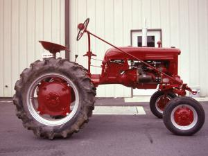 Red Tractor by Jim McGuire