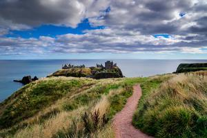 Dunnottar Castle Outside of Stonehaven, Aberdeenshire, Scotland, United Kingdom, Europe by Jim Nix