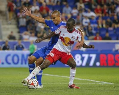 Aug 23, 2014 - MLS: Montreal Impact vs New York Red Bulls - Bradley Wright-Phillips, Matteo Ferrari