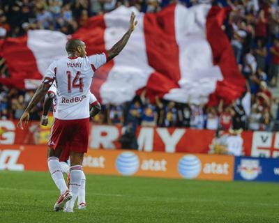 Aug 23, 2014 - MLS: Montreal Impact vs New York Red Bulls - Thierry Henry by Jim O'Connor