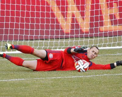 Mar 15, 2014 - MLS: Colorado Rapids vs New York Red Bulls - Luis Robles by Jim O'Connor