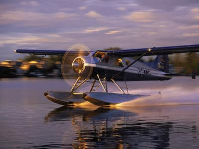 Float Plane Landing, AK by Jim Oltersdorf
