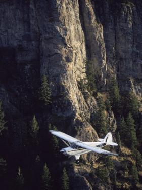Husky Aviat A-1A Aircraft in Backcountry of Idaho by Jim Oltersdorf