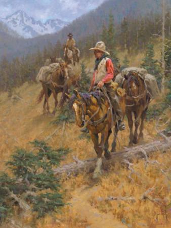 Mountain Trail by Jim Rey