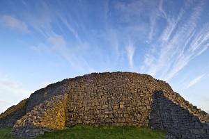 The Dry Stone Prehistoric Concentric Celtic Ring Fort of Dun Aengus by Jim Ricardson