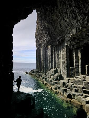 Fingal's Cave on the Isle of Staffa Off the West Coast of Mull by Jim Richardson
