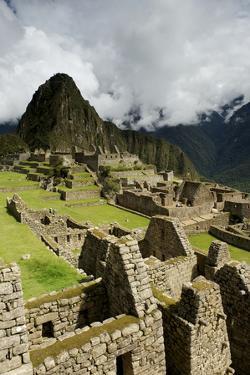 The Ancient Pre-Columbian Inca Ruins of Machu Picchu by Jim Richardson