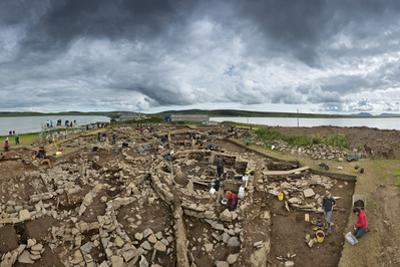 The Archeology Dig Site at the Ness of Brodgar in Orkney That Is Revealing a Neolithic Sacred Site