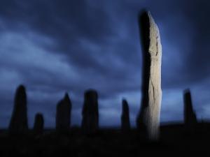 The Callanish Standing Stones, Cut from Rocks Three Billion Years Old by Jim Richardson