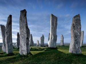 The Callanish Standing Stones, cut from rocks three billion years old. by Jim Richardson