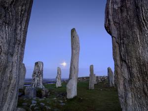 The Callanish Stones at Moonrise by Jim Richardson