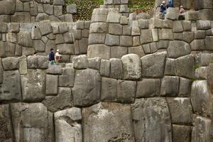 The Massive Stone Walls of Cuzco by Jim Richardson