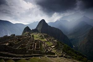 The Pre-Columbian Inca Ruins of Machu Picchu by Jim Richardson