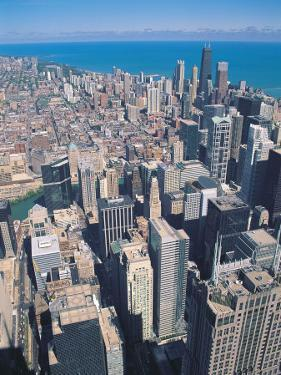 Aerial View of Chicago, Illinois by Jim Schwabel