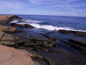 Atlantic Ocean, Halibut Point State Park, MA by Jim Schwabel